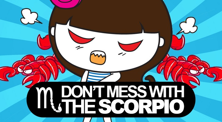 Don't mess with the Scorpio